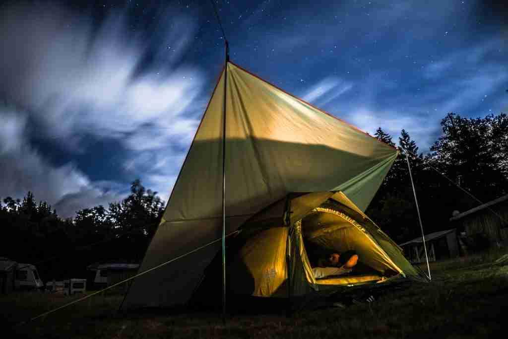 Zelten am Wolfgangsee - Paradiescamping