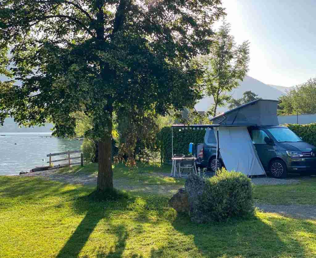 Campingplatz wolfgangsee